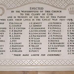 List of the Fallen
